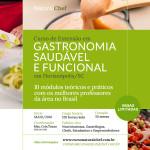 Novidade! Curso de Extensão em Gastronomia Saudável e Funcional em Florianópolis