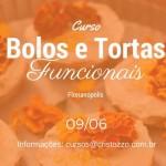 Curso Bolos e Tortas Funcionais – 09/06 Florianópolis