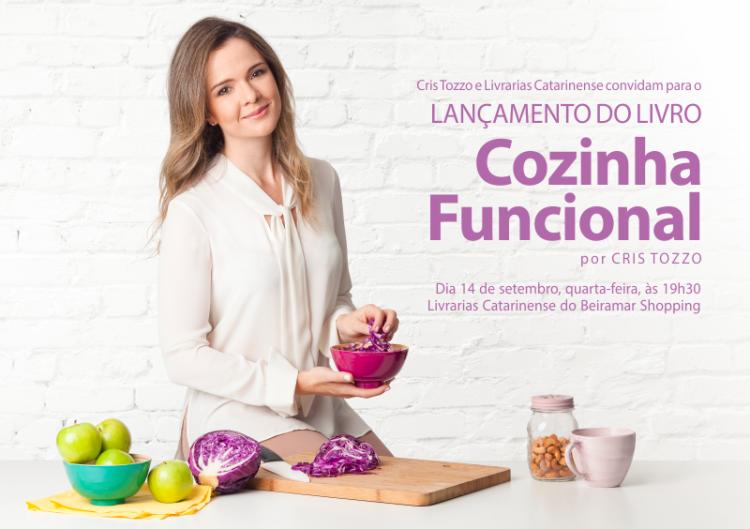 CONVITE BLOG LANCAMENTO LIVRO COZINHA FUNCIONAL