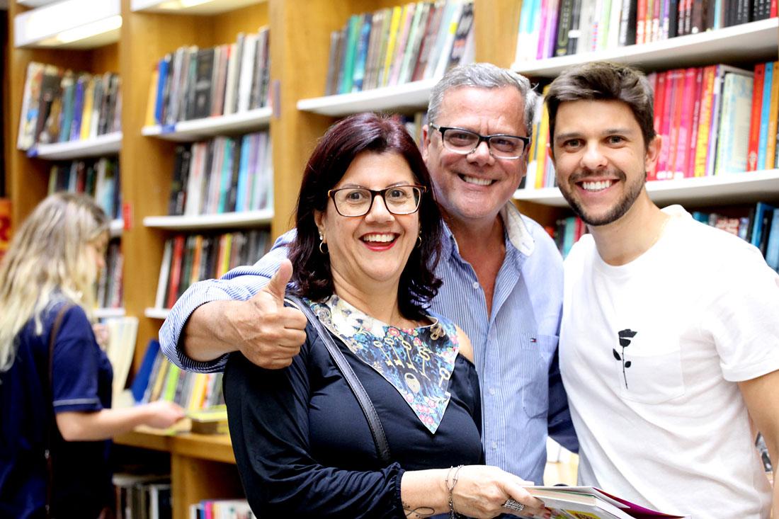 Márcia, Dorian e Gustavo