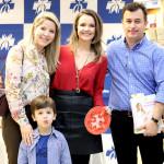 Andréa Biasuz e família