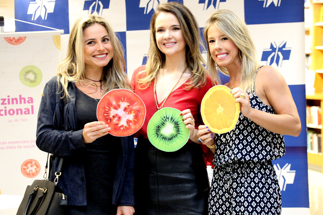 Amigas nutris Gabriela Muller e Vanessa Luchi